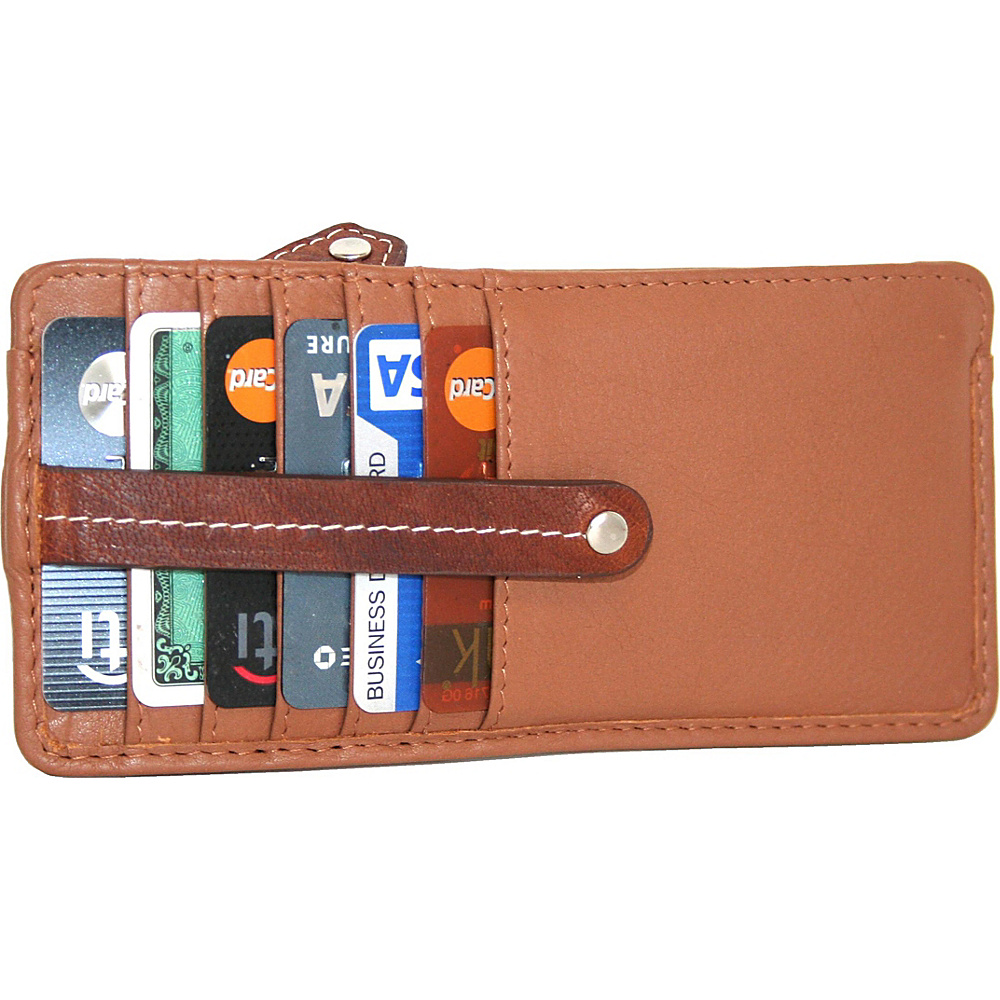 Nino Bossi Carley Card Holder Cognac - Nino Bossi Womens Wallets - Women's SLG, Women's Wallets