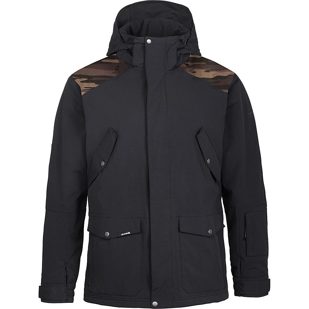 DAKINE Mens Huntsman Jacket L - Black - DAKINE Mens Apparel - Apparel & Footwear, Men's Apparel