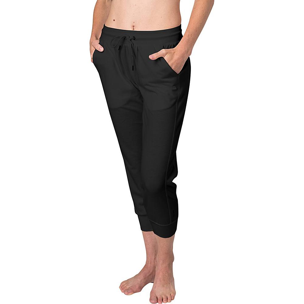 Soybu Womens Zuko Capri M - Black - Soybu Womens Apparel - Apparel & Footwear, Women's Apparel