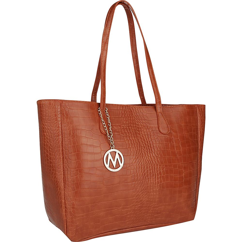 MKF Collection by Mia K. Farrow Sadie Back to Work Tote Orange - MKF Collection by Mia K. Farrow Manmade Handbags - Handbags, Manmade Handbags