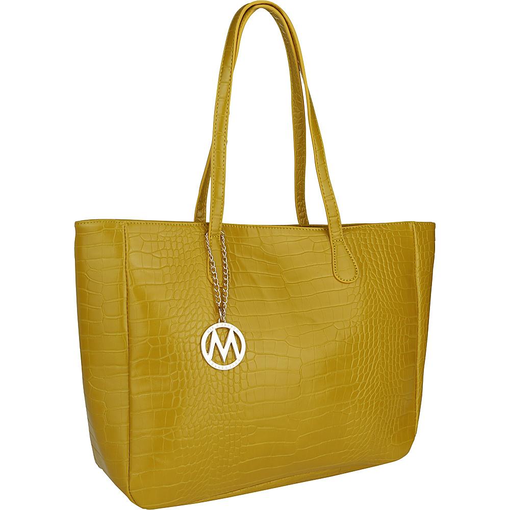 MKF Collection by Mia K. Farrow Sadie Back to Work Tote Yellow - MKF Collection by Mia K. Farrow Manmade Handbags - Handbags, Manmade Handbags