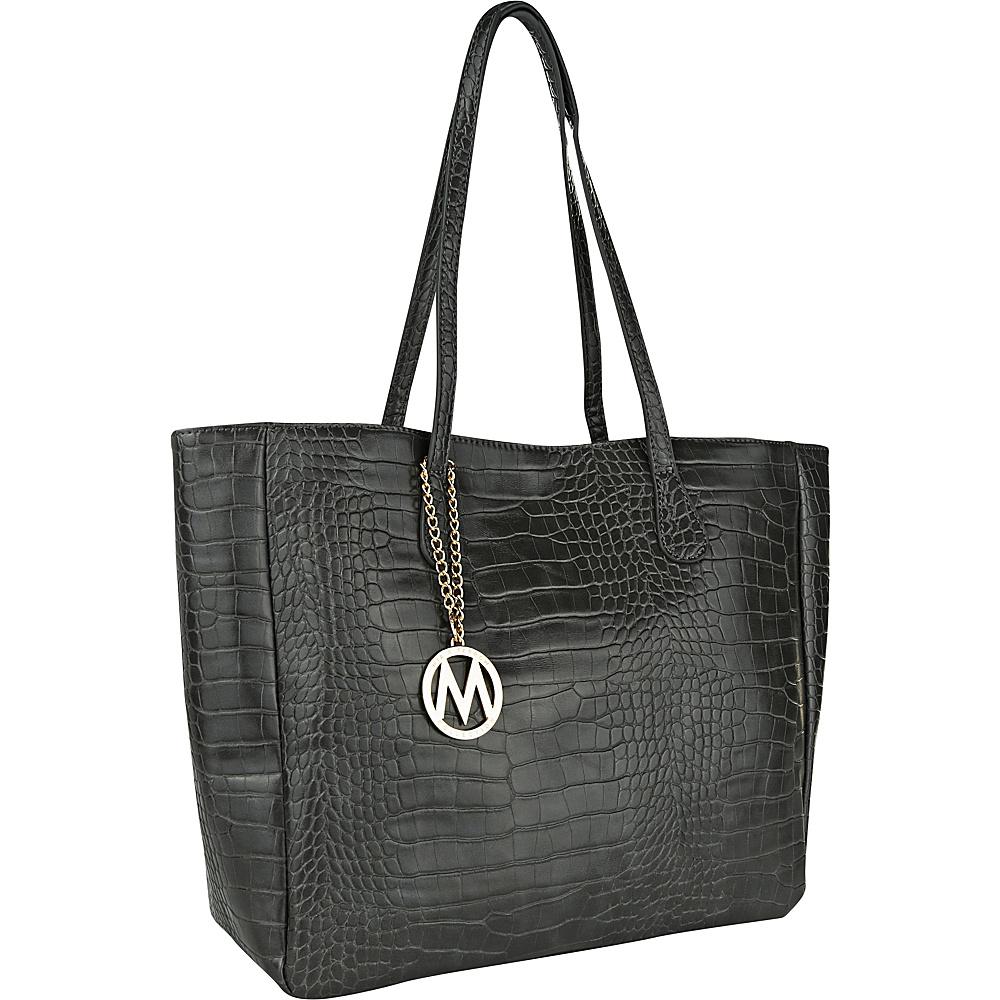 MKF Collection by Mia K. Farrow Sadie Back to Work Tote Grey - MKF Collection by Mia K. Farrow Manmade Handbags - Handbags, Manmade Handbags