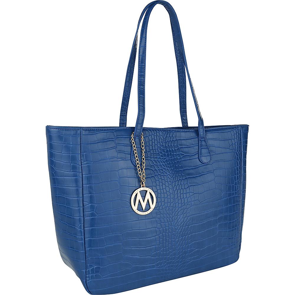MKF Collection by Mia K. Farrow Sadie Back to Work Tote Royal Blue - MKF Collection by Mia K. Farrow Manmade Handbags - Handbags, Manmade Handbags