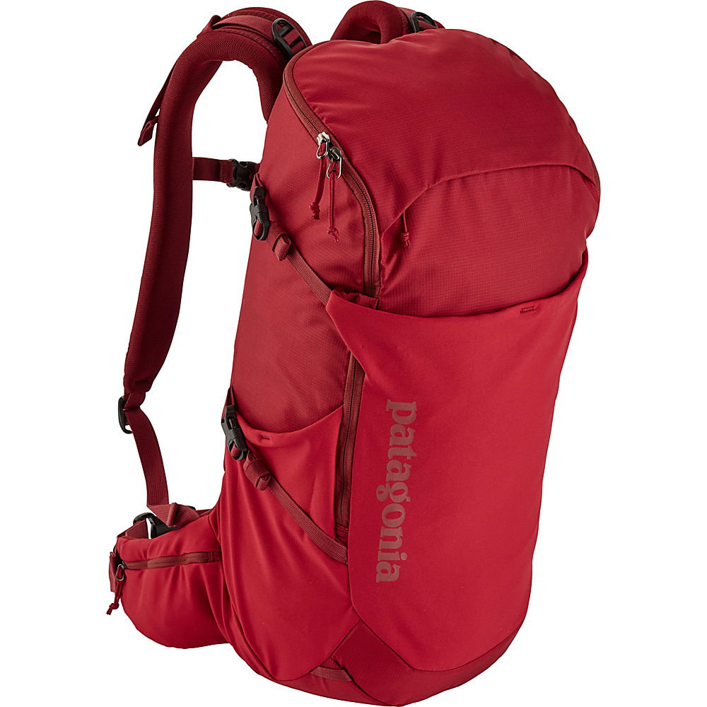 Patagonia Nine Trails Pack 28L Hiking Pack - L/XL Classic Red - Patagonia Day Hiking Backpacks - Outdoor, Day Hiking Backpacks