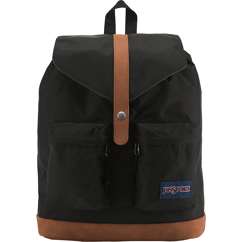 JanSport Madalyn Laptop Backpack Black - JanSport Everyday Backpacks
