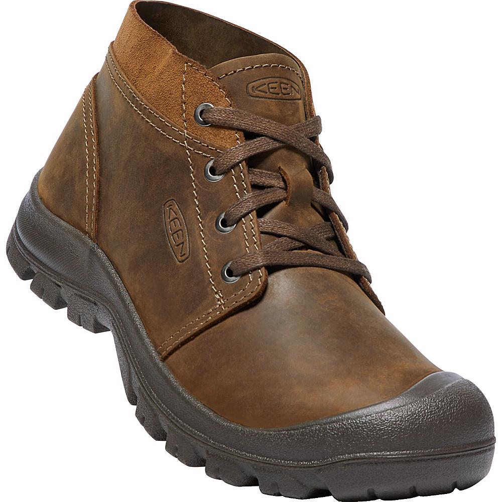 KEEN Mens Grayson Chukka Shoes 11.5 - Mid Brown/Scylum Smooth Leather - KEEN Mens Footwear - Apparel & Footwear, Men's Footwear