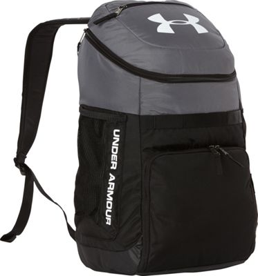 Under Armour UA TEAM Undeniable Backpack Graphite/Black/White - Under Armour Laptop Backpacks