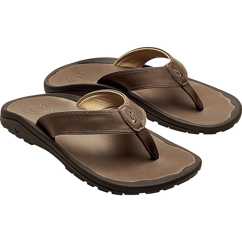 OluKai Mens Ohana IlI Sandals 7 - Mustang/Mustand - OluKai Mens Footwear - Apparel & Footwear, Men's Footwear