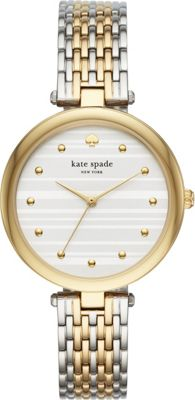 kate spade watches Two-Tone Varick Watch Gold - kate spad...