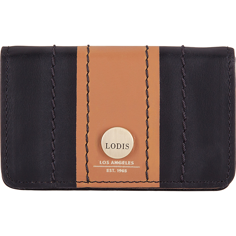 Lodis Rodeo Stripe RFID Mini Card Case Black - Lodis Business Accessories - Work Bags & Briefcases, Business Accessories