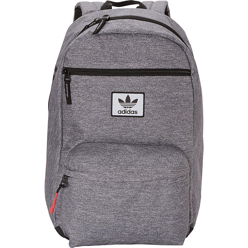 d7a2c6e22b ... UPC 716106794957 product image for adidas Originals National Laptop  Backpack Heather Granite Black Yellow