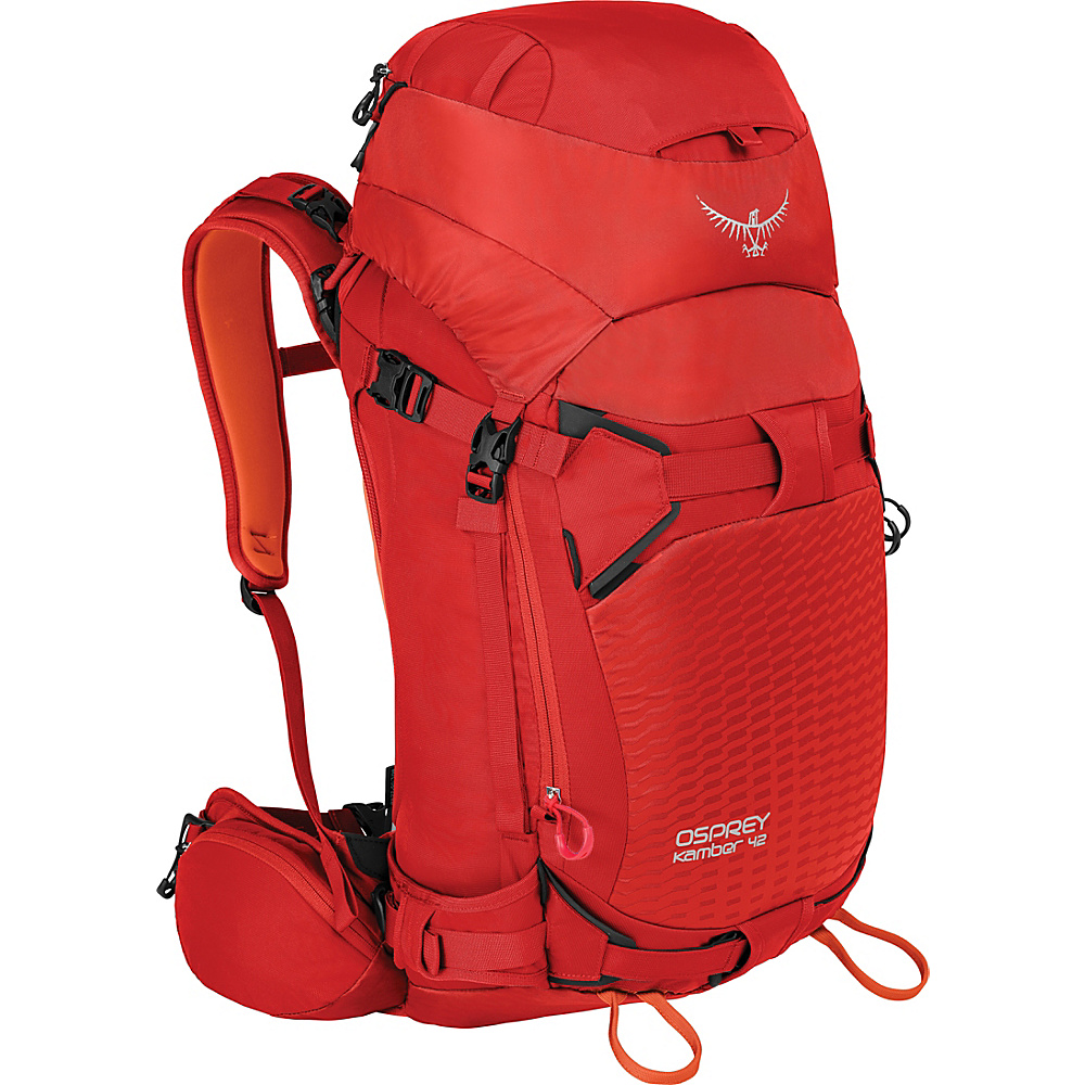 Osprey Kamber 42 Hiking Backpack Ripcord Red – S/M - Osprey Day Hiking Backpacks - Outdoor, Day Hiking Backpacks