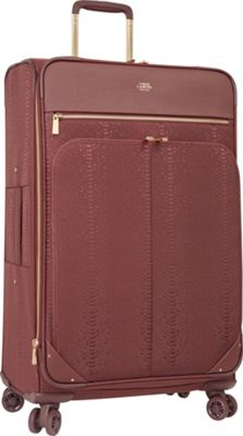 Vince Camuto Luggage Ameliah 28 inch Expandable Spinner Checked Luggage FIG - Vince Camuto Luggage Softside Checked