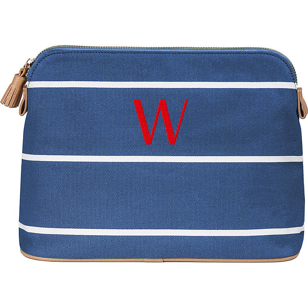 Cathys Concepts Monogram Cosmetic Bag Blue - W - Cathys Concepts Toiletry Kits - Travel Accessories, Toiletry Kits