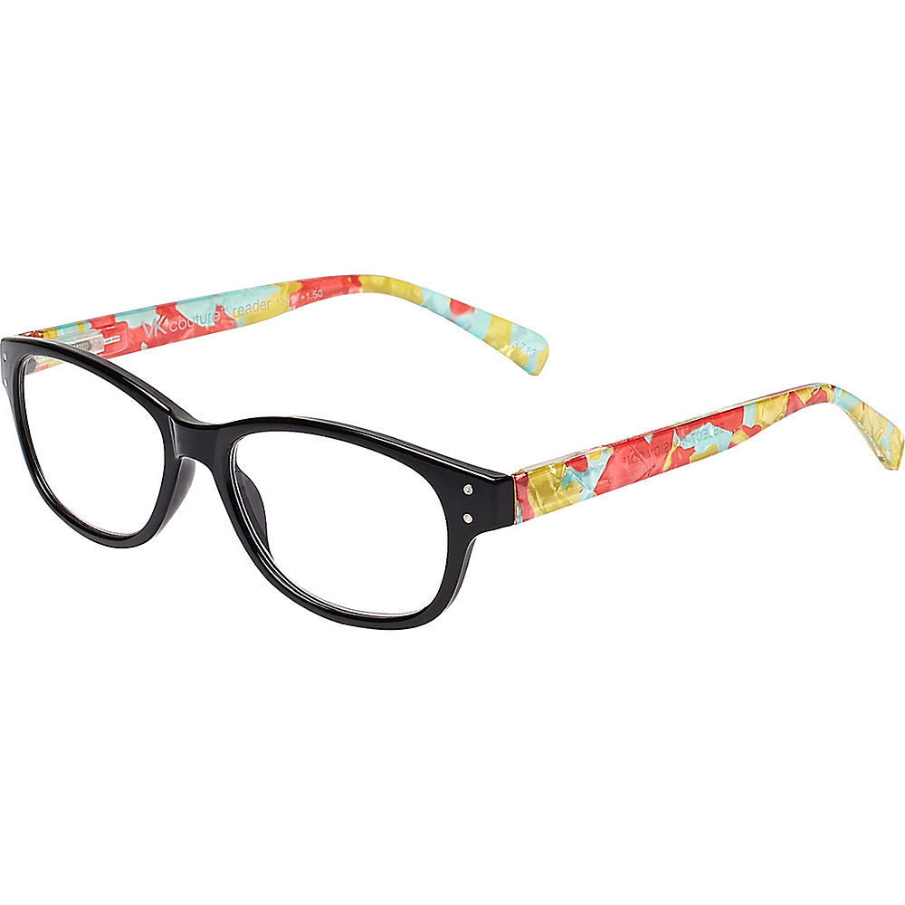 Select-A-Vision VK Couture Reading Glasses +2.75 - Black - Select-A-Vision Sunglasses - Fashion Accessories, Sunglasses