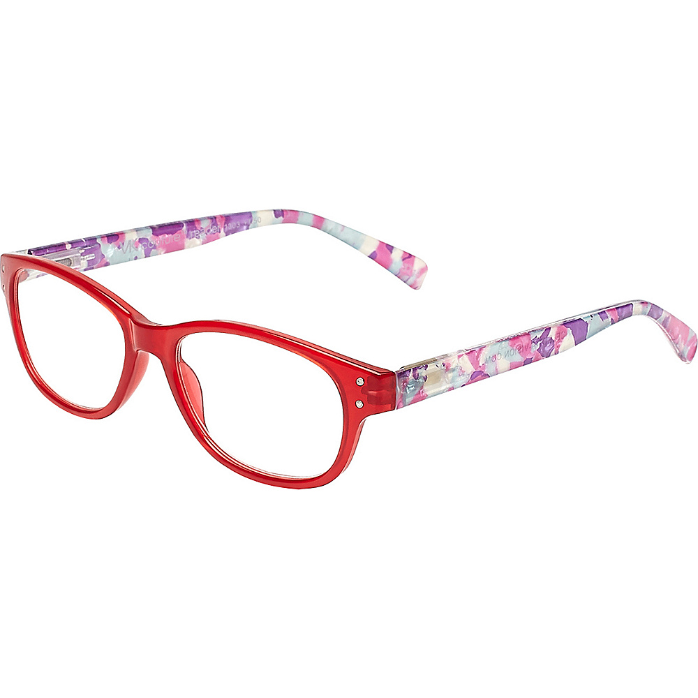 Select-A-Vision VK Couture Reading Glasses +1.25 - Red - Select-A-Vision Sunglasses - Fashion Accessories, Sunglasses