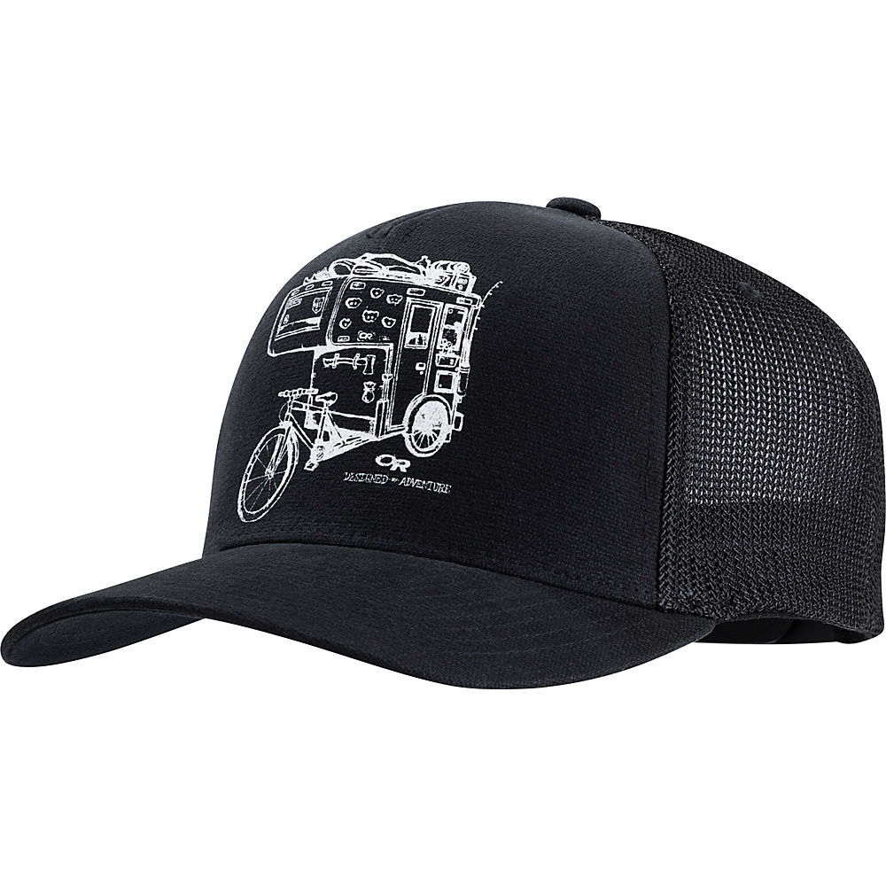 Outdoor Research Dirtbag Trucker Cap One Size - Black - Outdoor Research Hats/Gloves/Scarves - Fashion Accessories, Hats/Gloves/Scarves