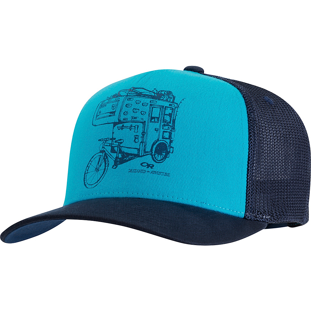 Outdoor Research Dirtbag Trucker Cap One Size - Typhoon - Outdoor Research Hats/Gloves/Scarves - Fashion Accessories, Hats/Gloves/Scarves