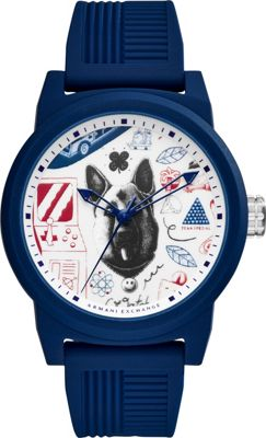 A/X Armani Exchange Mens Watch Blue - A/X Armani Exchange...
