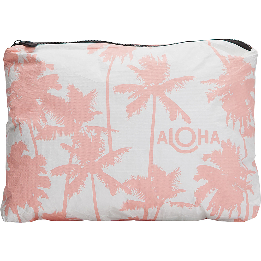 Image of ALOHA Collection Medium Wet/Dry Pouch- Coco Palms Coco Palms Guava - ALOHA Collection Packable Bags