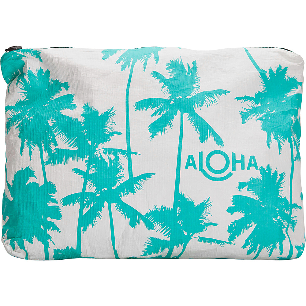 Image of ALOHA Collection Medium Wet/Dry Pouch- Coco Palms Coco Palms Ocean - ALOHA Collection Packable Bags