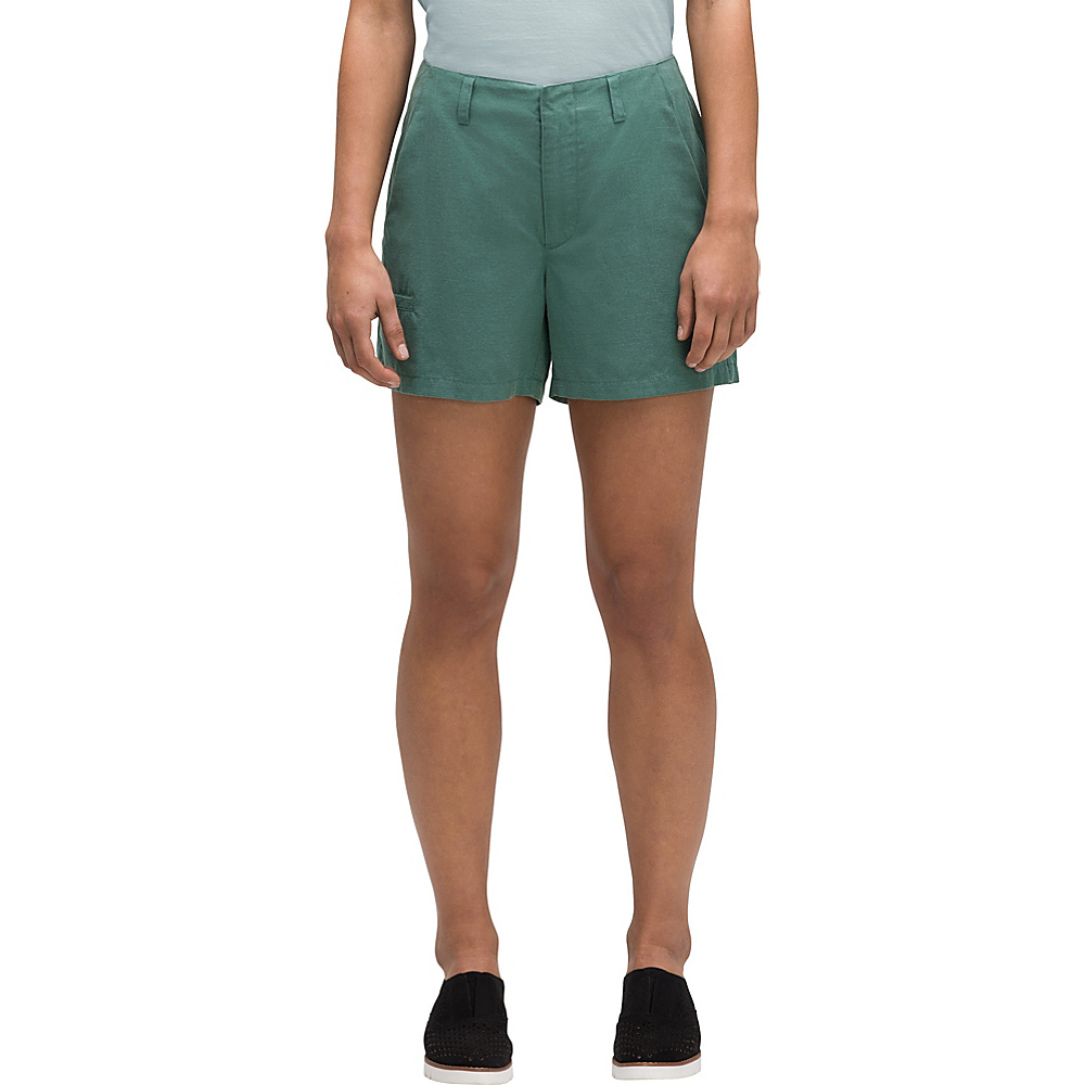NAU Clothing Womens Flexible Short 6 - 4.5in - Mallard - NAU Clothing Women's Apparel Womens Flexible Short 6 - 4.5in - Mallard. Composed of a soft and breathable blend of classic linen and modern TENCEL® fiber, the updated Flexible Short features a clean and timeless cut for perfect summertime comfort.