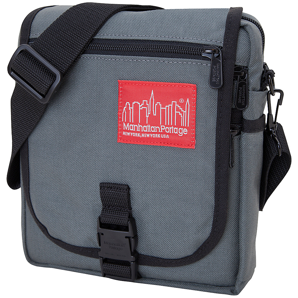 Manhattan Portage Danas Mini Bag Gray - Manhattan Portage Fabric Handbags - Handbags, Fabric Handbags