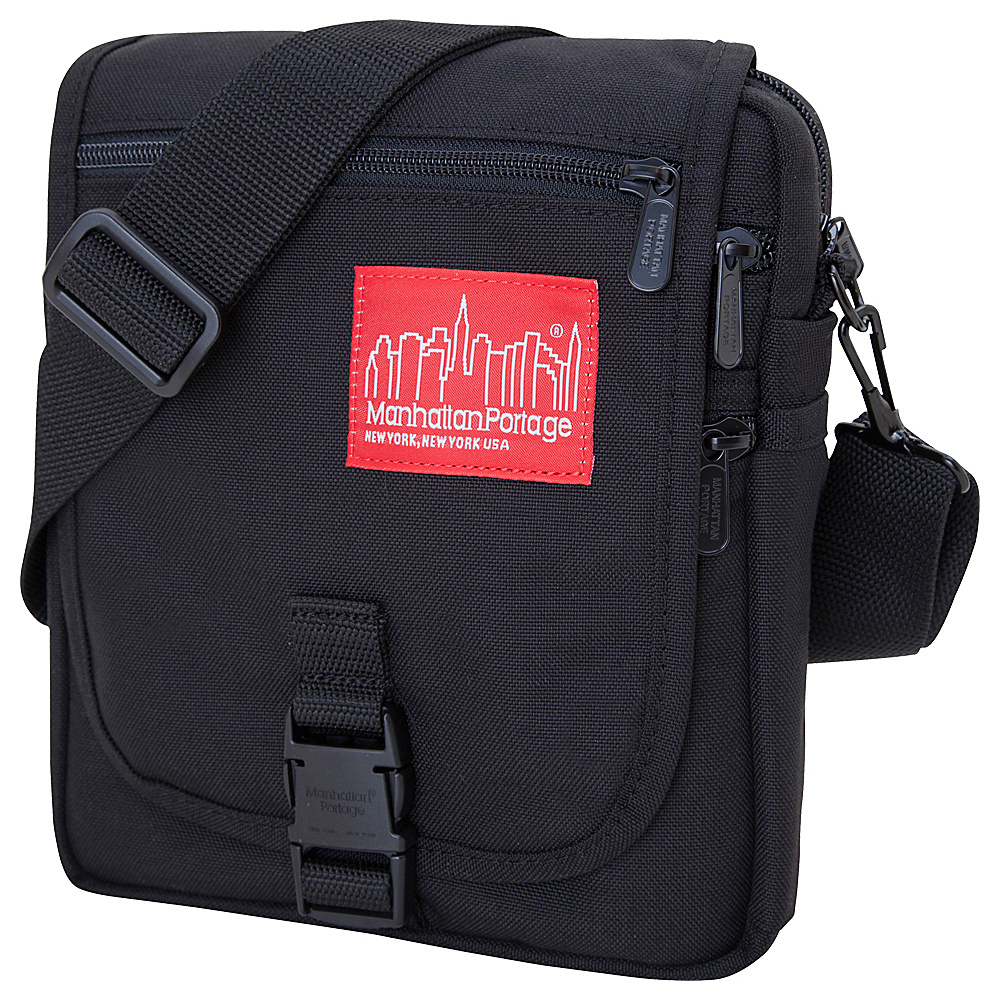 Manhattan Portage Danas Mini Bag Black - Manhattan Portage Fabric Handbags - Handbags, Fabric Handbags