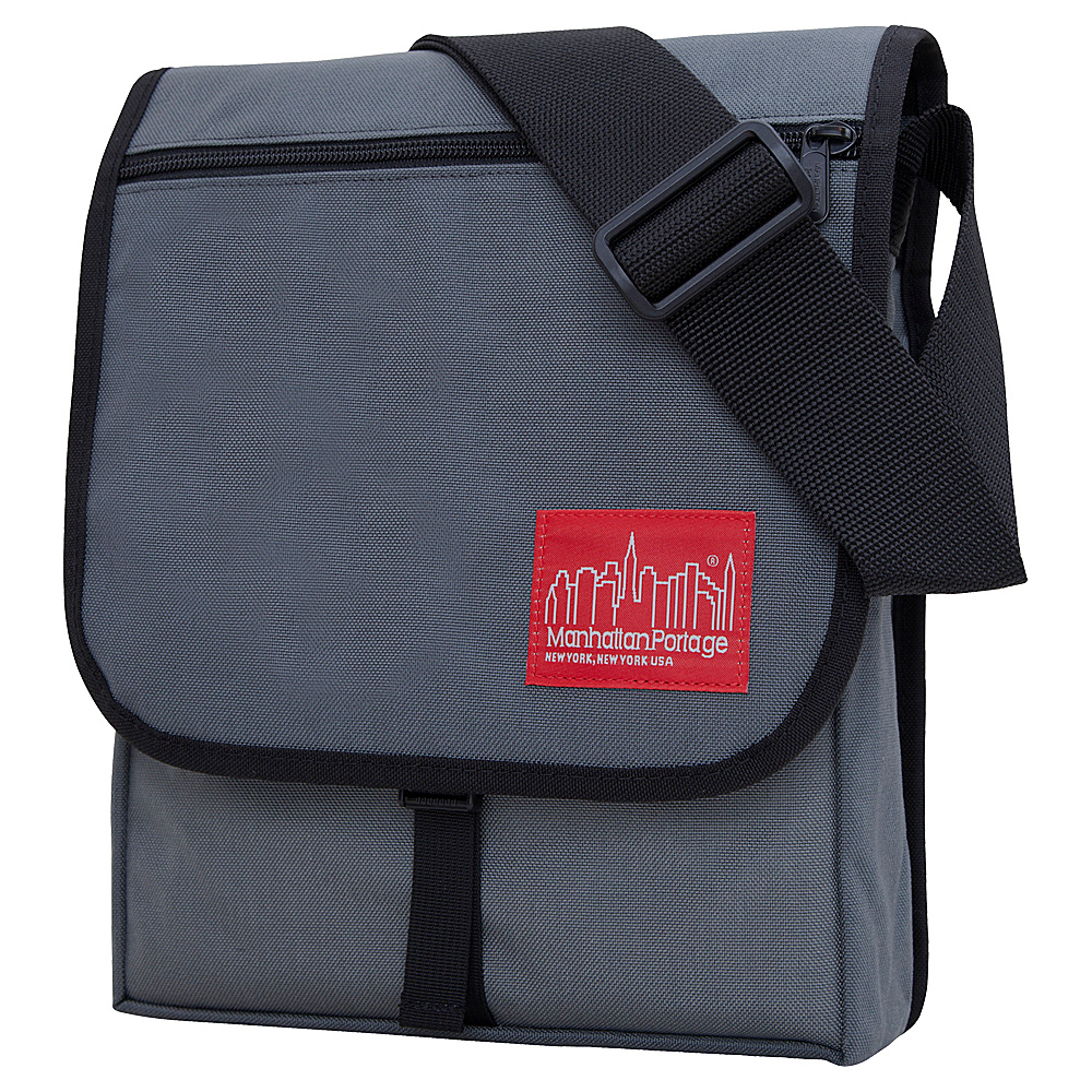 Manhattan Portage Manhattan Bag Gray - Manhattan Portage Messenger Bags - Work Bags & Briefcases, Messenger Bags