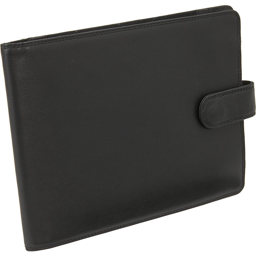 Derek Alexander Leather Note Pad Black - Derek Alexander Business Accessories - Work Bags & Briefcases, Business Accessories