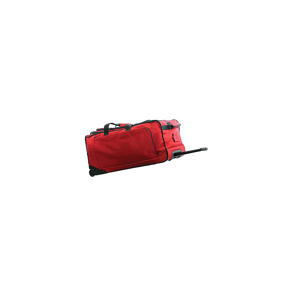 Netpack Transporter II Wheeled Duffel - Large - Wine - Luggage, Rolling Duffels
