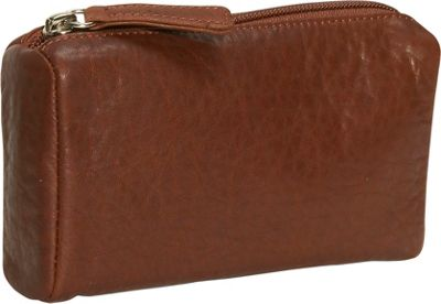 Osgoode Marley Cashmere Large Coin Purse - Brandy