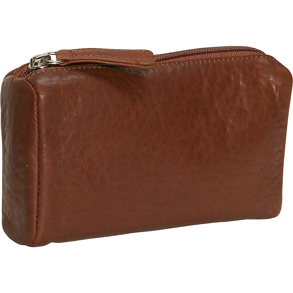 Osgoode Marley Cashmere Large Coin Purse Brandy