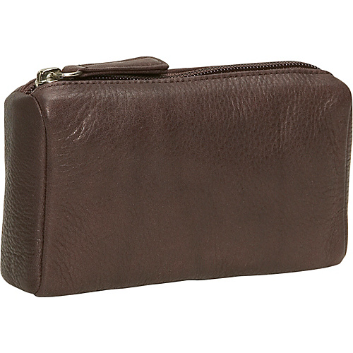Osgoode Marley Cashmere Large Coin Purse - Raisin