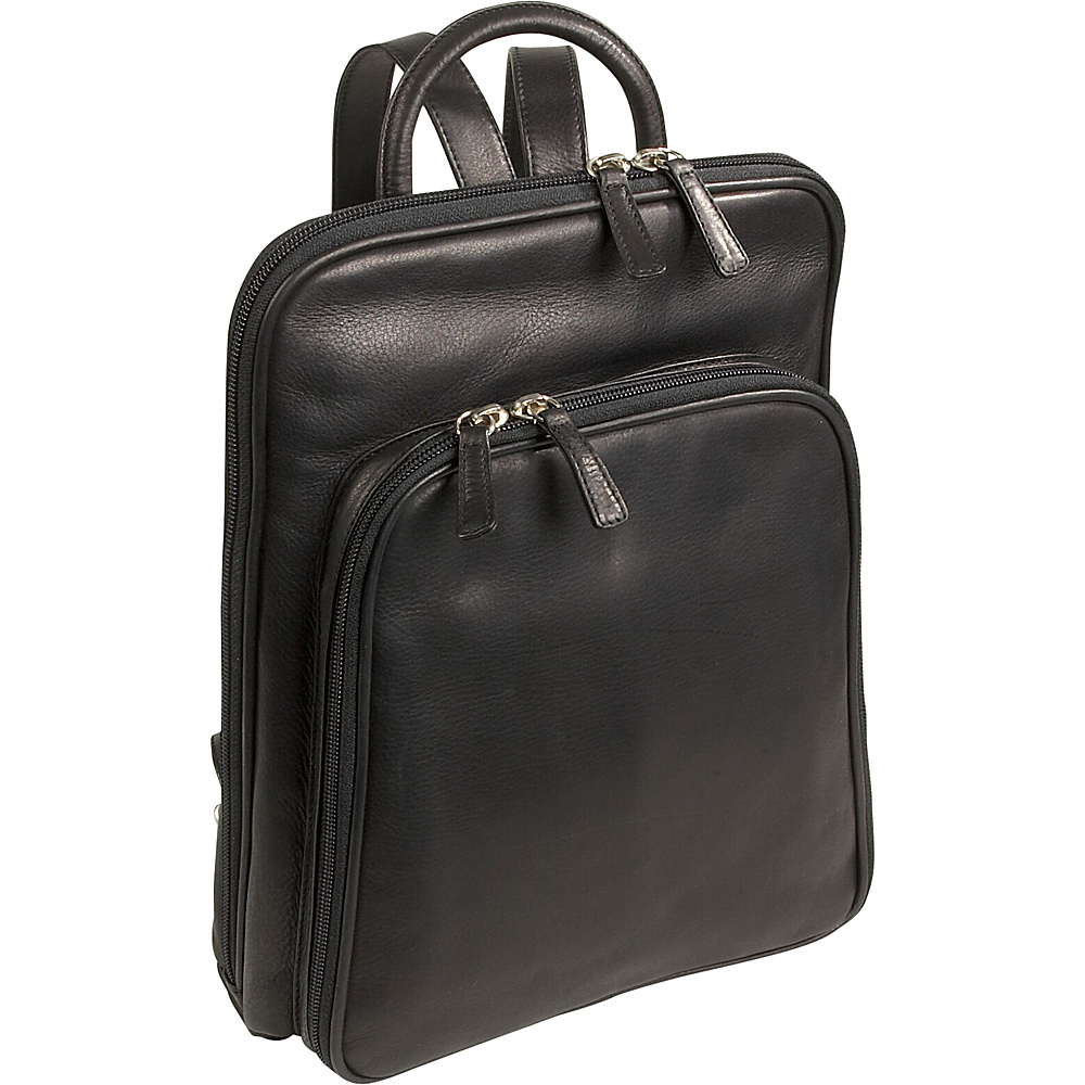 Osgoode Marley Cashmere Large Organizer Backpack Black Osgoode Marley Leather Handbags