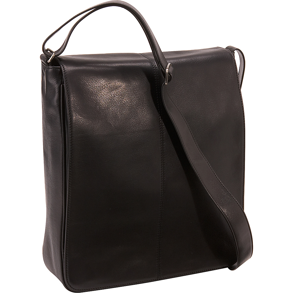 Osgoode Marley Cashmere European Messenger Bag - Black - Work Bags & Briefcases, Other Men's Bags