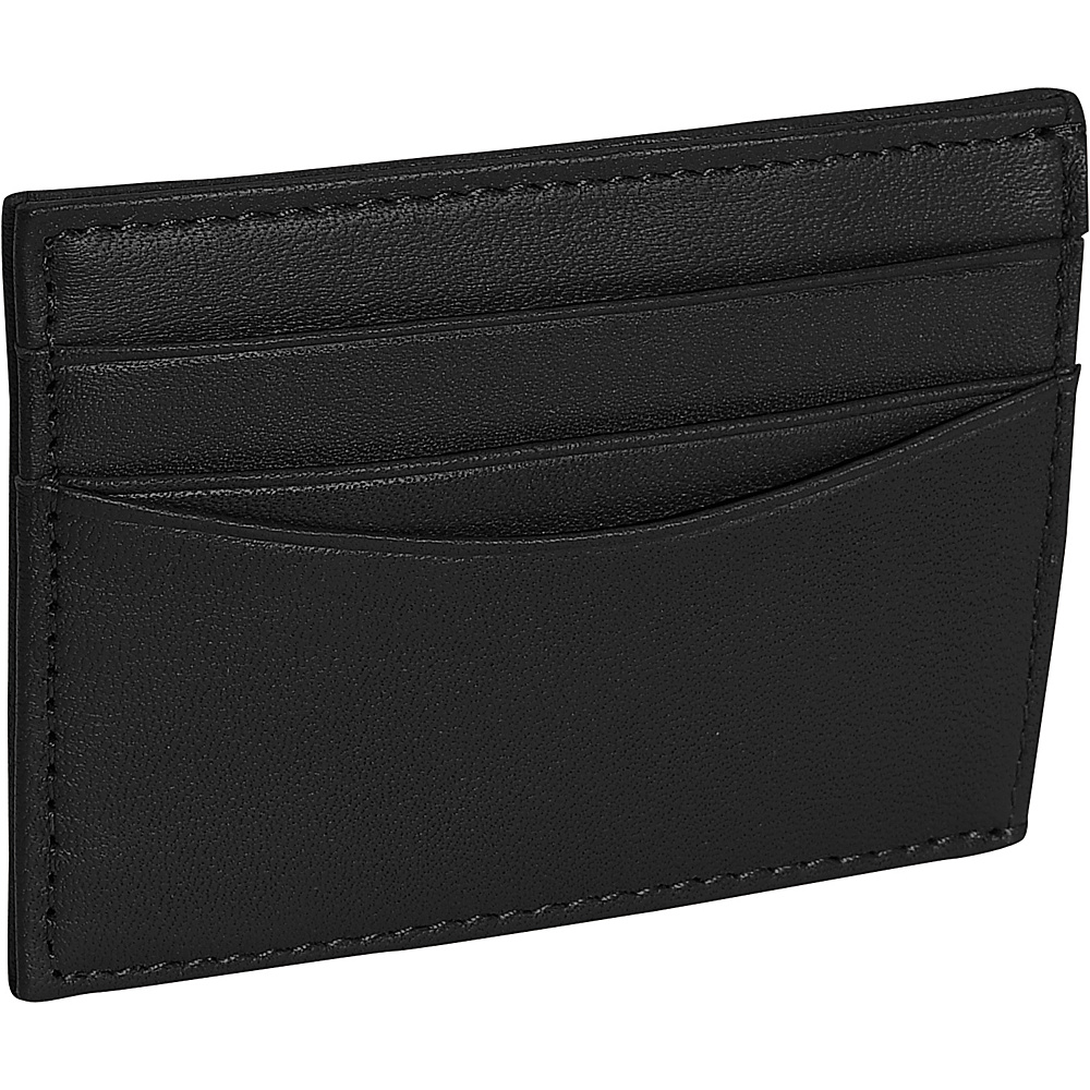 Royce Leather Magnetic Money Clip Wallet - Black - Work Bags & Briefcases, Men's Wallets