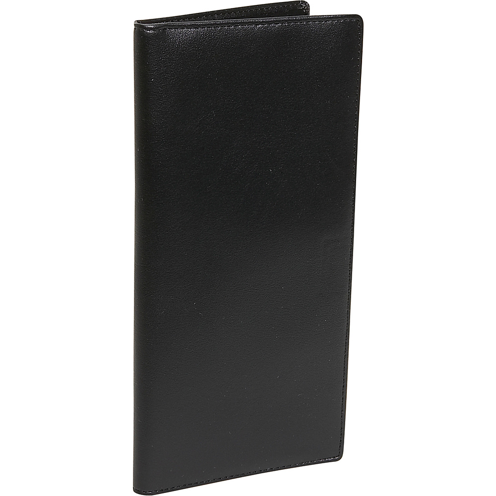 Royce Leather Passport Ticket Holder - Leather - Black - Travel Accessories, Travel Wallets