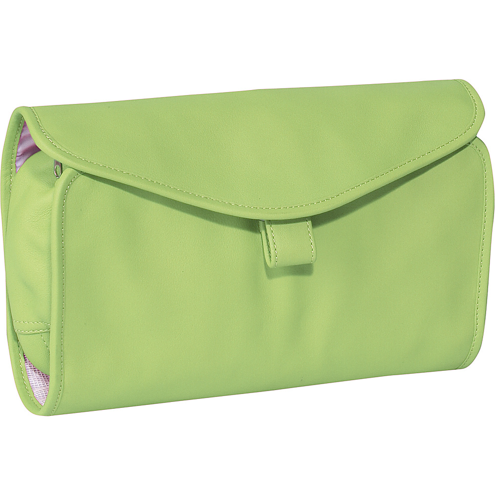 Royce Leather Hanging Toiletry Bag - Key Lime Green - Travel Accessories, Toiletry Kits