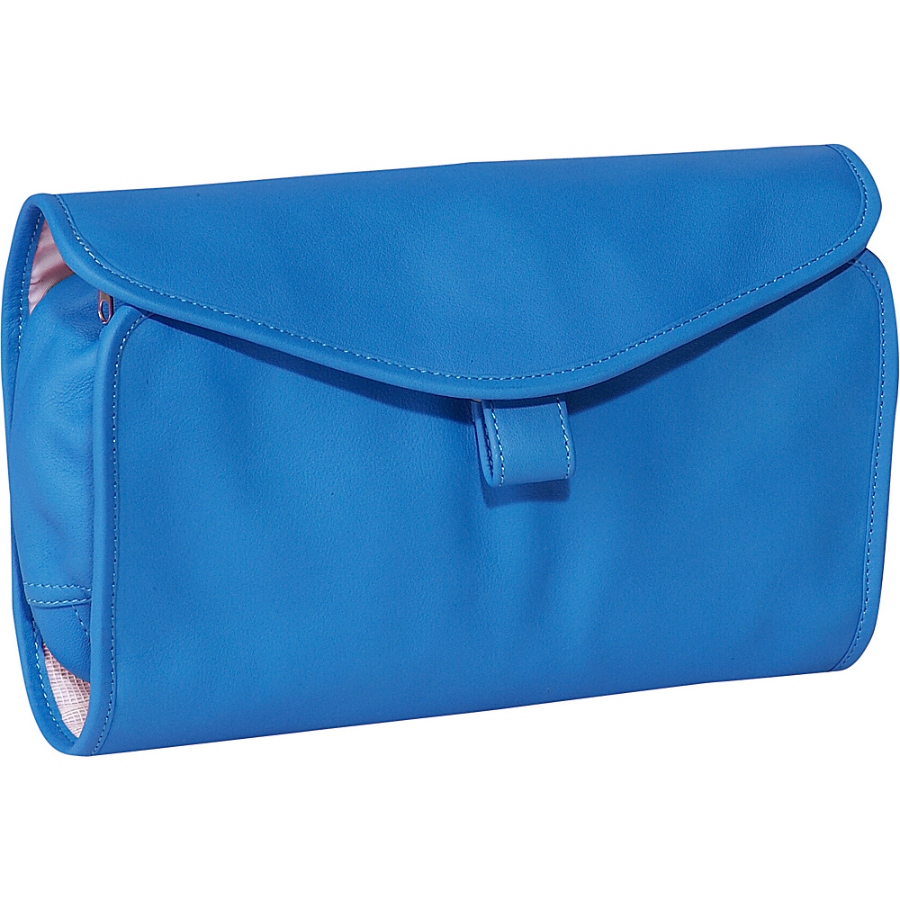 Royce Leather Hanging Toiletry Bag - Royce Blue - Travel Accessories, Toiletry Kits