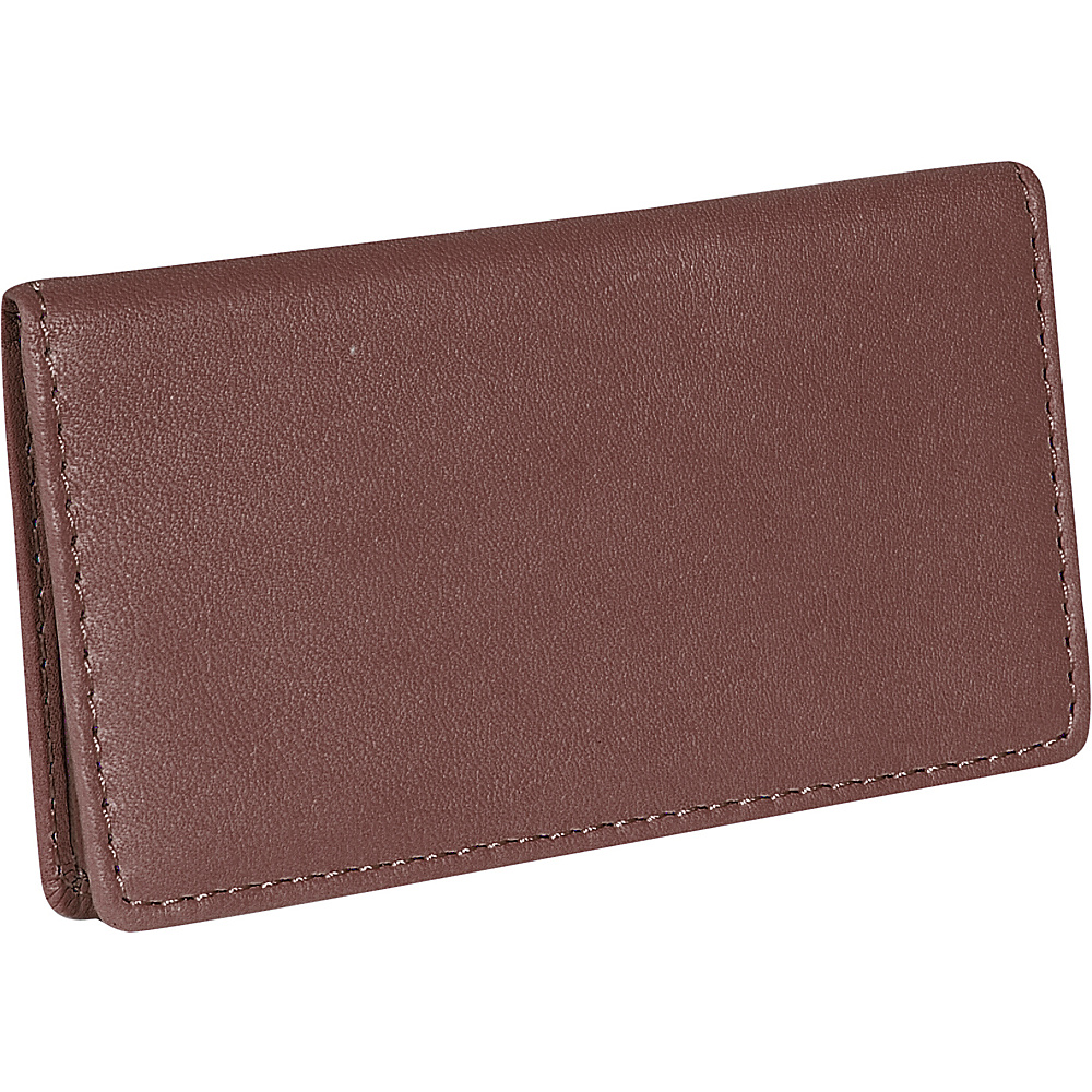 Royce Leather Business Card Case - Coco - Work Bags & Briefcases, Business Accessories