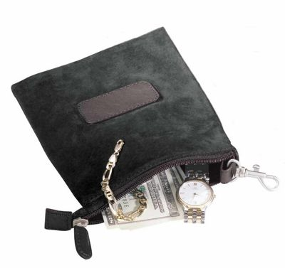 Royce Leather Golf Valuable Pouch - Black