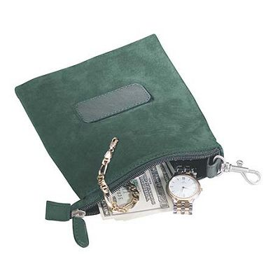 Royce Leather Golf Valuable Pouch - Green