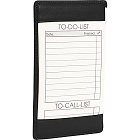 Traditional Note Jotter Black