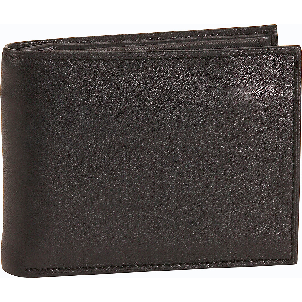 Buxton Modernist II Zipper Convertible Black - Buxton Mens Wallets - Work Bags & Briefcases, Men's Wallets