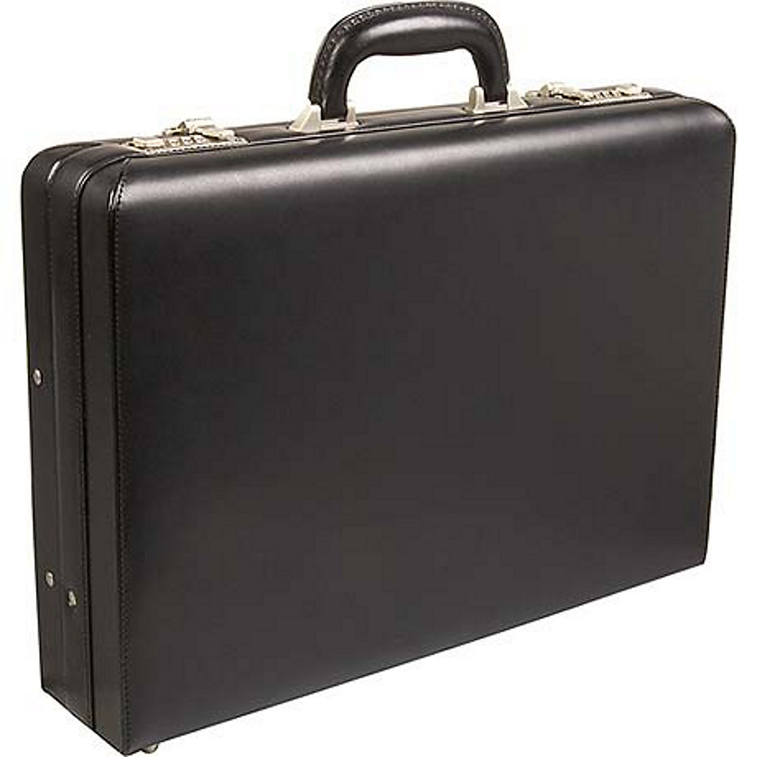 Kenneth Cole Reaction Lock And Roll Leather Attache