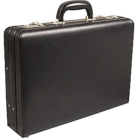 Lock and Roll - Leather Attache Black