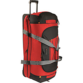A.T. Gear Classic 36'' Drop-Bottomed Wheeled Duffel  Fire Red