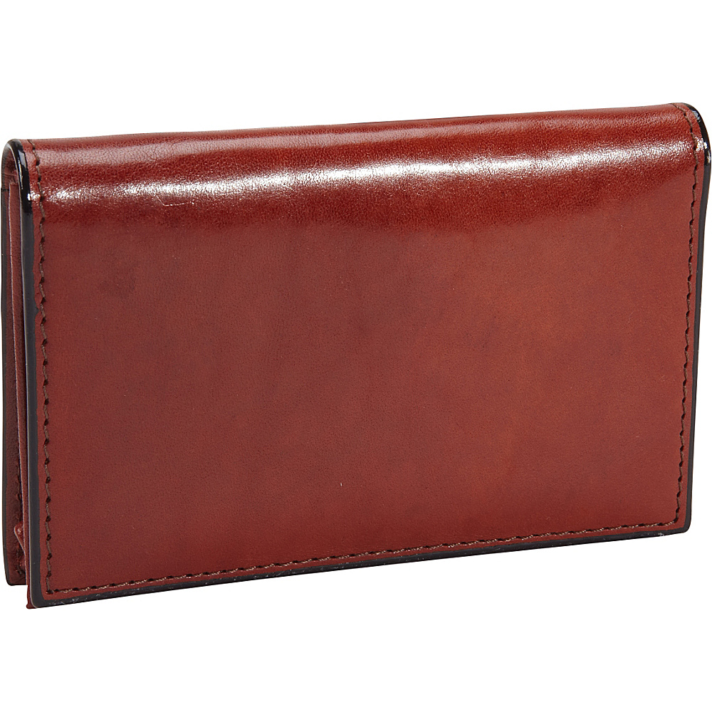 Bosca Old Leather Full Gusset 2 Pocket Card Case with ID Cognac - Bosca Men's Wallets