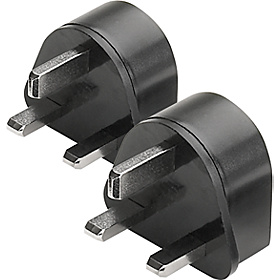Adapter Plugs - set of 2 Black